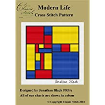 Modern Life Cross Stitch Pattern