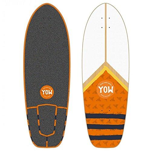 Yow Surf Mundaka Road Cruiser Deck Tabla de Skate, Unisex Adulto, 31'