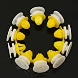 10Pcs Door Moulding Trim Wheel Arch Clips For Land River Discovery