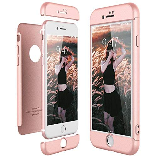 CE-Link Funda Apple iPhone 7 Rigida 360