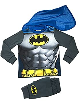 Pijama y disfraz de superhéroes para niños de 1–8años / Buzz Lightyear Superman Spiderman Batman