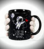 Taza-mug-desayuno-de-cermica-negra-32-cl-Te-quiero-hasta-la-luna-y-ms-all-idioma-ingls-modelo-To-the-Moon