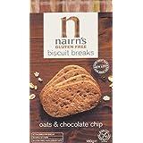 Nairns Gluten Free Biscuit Break Chocolate Chip 160 g (Pack of 12)