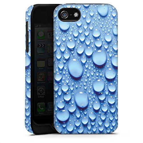 Apple iPhone 4 Housse Étui Silicone Coque Protection Eau Water Gouttes Cas Tough terne
