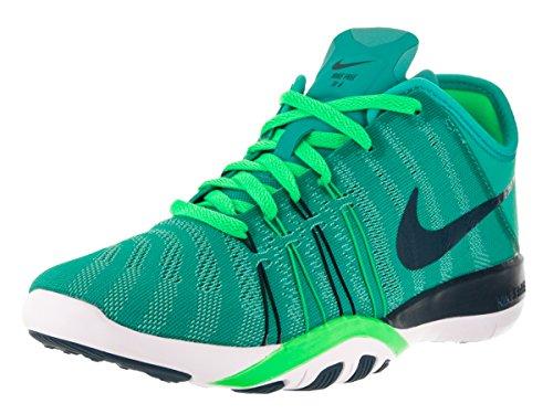 Nike Damen Free TR 6Training Schuh, Grã¼n - CLR Jade/Mdnght Trq/Rg Grn/WHT - GrÃße: 37,5 EU (M) -