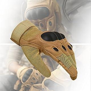 AVSUPPLY Taktische Handschuhe Motorrad Handschuhe Herren Vollfinger für Airsoft Militär Paintball Downhill Fahrrad und Andere Outdoor Aktivitäten(Braun, M)