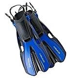 HEAD 'Schnorcheln Schwimmen Flossen, 480203-SFBL LXL-1, blau, Large/Size 10-13