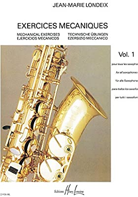 Exercise Machine For All Saxophones - Volume 1 from LEMOINE