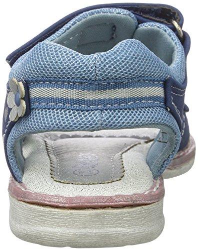 Supremo 2730507, Sandales  Bout ouvert fille Blau (Blue)