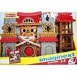 Fisher Price - Imaginext - Samurai Castillo - con 2 Mini Figuras & Accesorios - V8704