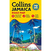 Jamaica Road Map (Road Maps)