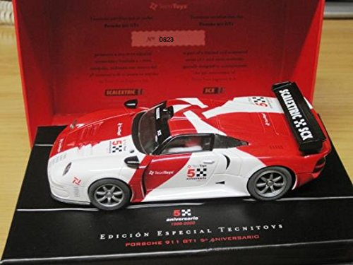 Coche Scalextric Porsche 911 GT1. 6112. Edicion 5