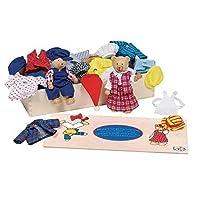 GoKi Flexible Dolls Bear Dress-Up Box