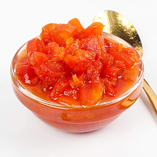 Urban Platter Greek-Style Carrots Preserve, 350g / 12.3oz [Low in Sugar, High in Fruit Jam, Marmalade]