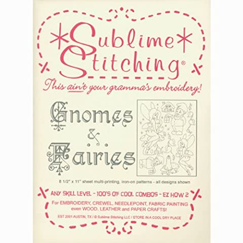 Sublime Stitching Gnomes and Fairies Embroidery Patterns