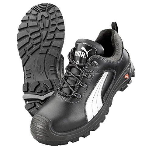 Puma Safety Sicherheitsschuhe Cascades Low S3 Scuff Caps 64.072.0, Schwarz, 47 (Schuhe Für Herren Puma 2014)