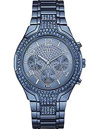 Guess  W0628L6 - Reloj de lujo para mujer, color azul