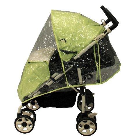 Habillage pluie poussette avec canopy - Looping