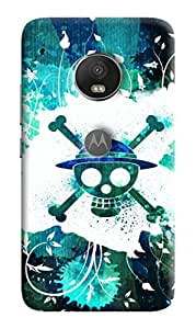 Back Cover for Motorola Moto C Plus UV Printed HARD High Quality By DRaX