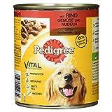 Pedigree Hundefutter Saftiges Geschnetzeltes, Gemüse und Nudeln, 800 g