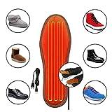 HotWinter Semelles chauffantes de Chargement Unisexe USB, Semelle chauffante électrique pour Chaussures, Pied Chauffant pour...