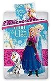 """Disney - Set con copripiumino singolo del cartone Disney Frozen, con scritta in inglese """"Sisters Forever"""""""
