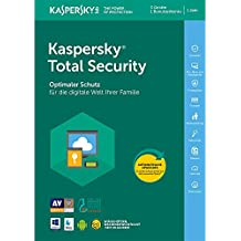 Kaspersky Total Security 2018 Standard, 3 Geräte, 1 Jahr, Windows/Mac/Android, Email Download