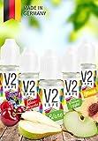 V2 Vape E-Liquid Set OBSTKORB gebrauchsfertig - Made in DE 0mg...