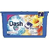Dash 2en1 - Perles - Lessive Capsules Hibiscus et Fleurs de Citronnier - 38 Lavages