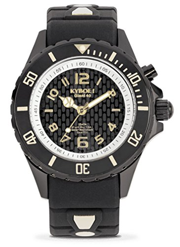 Kyboe. Black Lightning BS.40 – 002.15 nero LED orologio da donna