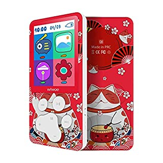 Lecteur MP3 Enfant 8 Go Écran Coloré avec Motif de Chat, MP4 Enfant pour Filles, Calendrier, Livres Numériques, Jeux