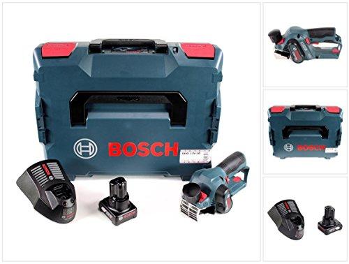 Bosch GHO 12V-20 Akku Hobel Professional in L-Boxx + 1x GBA 12 V 6,0 Ah Akku + GAL 1230 CV Schnell Ladegerät