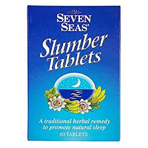 Seven Seas Slumber Tablets Herbal Remedy To Promote Natural Sleep 60 Tablets