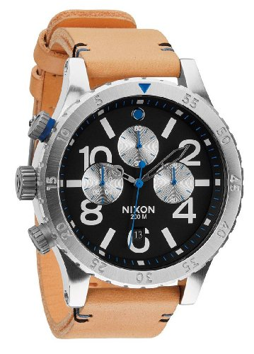 natural-black-the-48-20-chrono-leather-watch-by-nixon