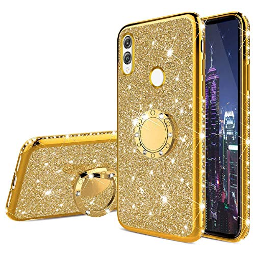 6c82f0dce90 COTDINFOR iPhone XR Funda para Regalo Niña Mujer Glitter Diamond Bling  Protectora Silikon Plating TPU Case