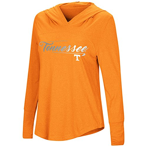 Colosseum Damen Ich Stick Long Sleeve Hoody, Viele Colleges erhältlich, Damen, University of Tennessee Volunteers, Large