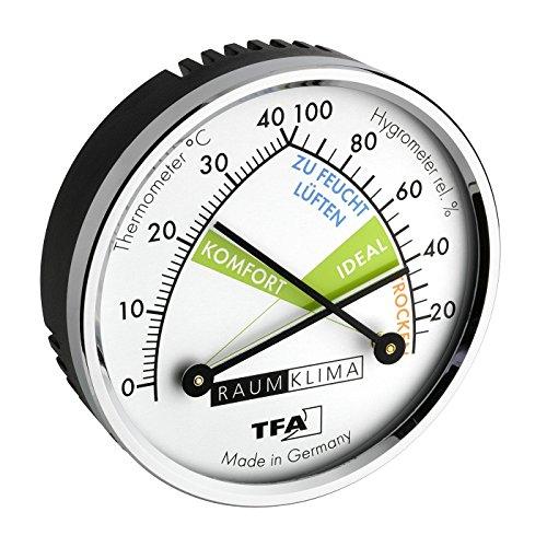 TFA Dostmann Thermo-Hygrometer, 45.2024, mehrfarbig