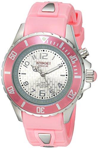 KYBOE KY.40-028.15 - Reloj de pulsera unisex, Silicona, color Rosa