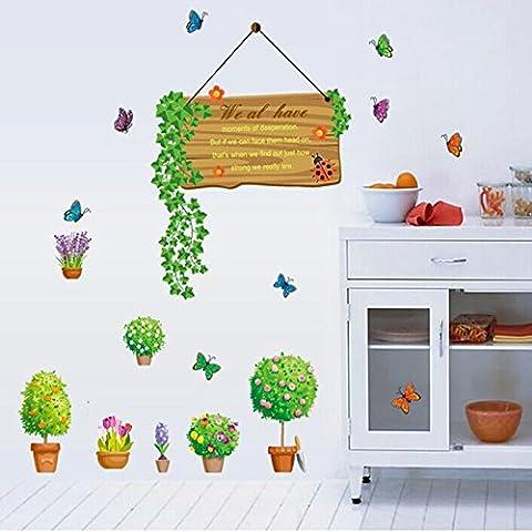 Decorazioni di Natale Halloween Rimovibile a3Desivi/muro/contatori/soggiorno/3Divani/vetro/wall stickers/fresco/naturale/fiore