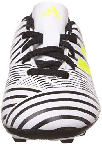 adidas Jungen Nemeziz 17.4 Fxg J Fußballschuhe blanc/jaune fluo/noir