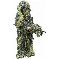 Combat Kids Ghillie Suit 4Pcs En Woodland