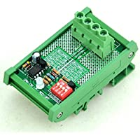 Electronics-Salon Montaggio su guida DIN LVD Low Voltage Disconnect modulo,