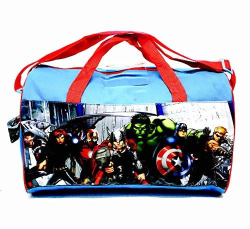 Avengers Kids Sport Bag Jungen Gym Swim Übung Schule PE Trip Reisen Sleepover Urlaub Handtasche Cartoon (Ideen Charakter)