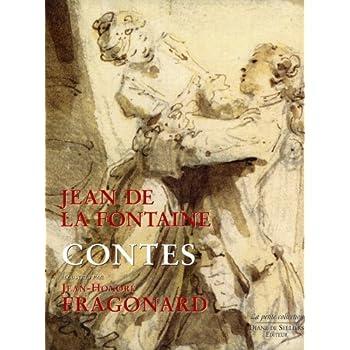 Contes de Jean de La Fontaine illustrés par Jean-Honoré Fragonard