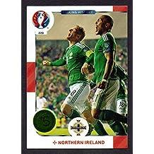 Panini Adrenalyn XL UEFA Euro 2016220Nordirland macht Geschichte Karte