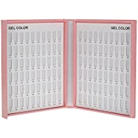 Anself - Profesionales Cartas Bandejas para Muestra Color de Esmalte Gel de Uñas, Con Consejos (216/120 Colores Opcionales)