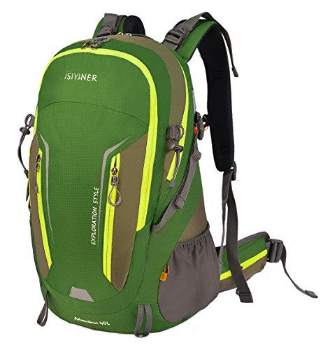 Imagen de  de senderismo, impermeable trekking  de nylon bolsa de viaje para explorar escalada ciclismo aventura acampada montañismo