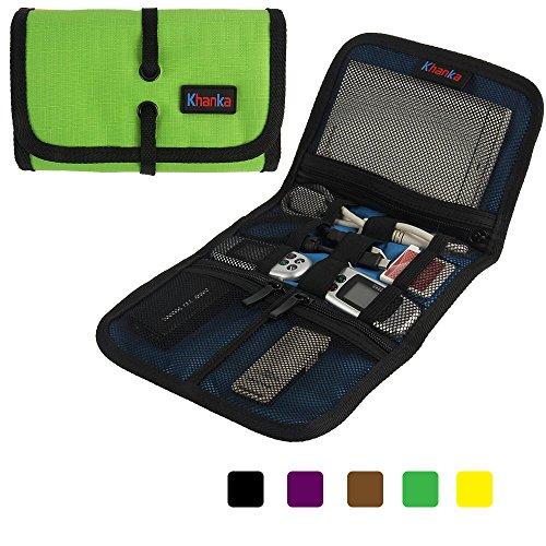 Teckone portatile universale Organizzatore borse trasporta copertura del sacchetto di caso Custodia per WD My Passport Ultra / Samsung M3 / Toshiba Hard disk / USB cavo Azionamento Shuttle e altri accessori Elettronica