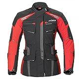 Büse Torino Evo Damen Jacke schwarz rot Größe 44