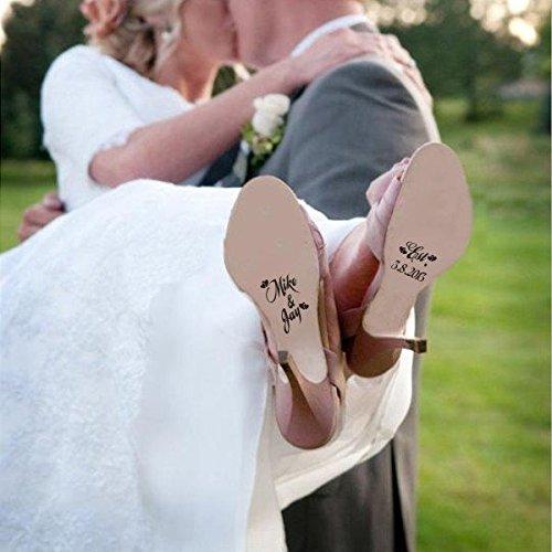 Mairgwall personalizado único zapatos boda zapatos
